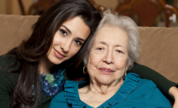 caretaker and her patient